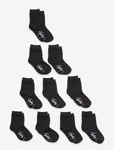 A. Solid Crew Sock - skarpetki - black