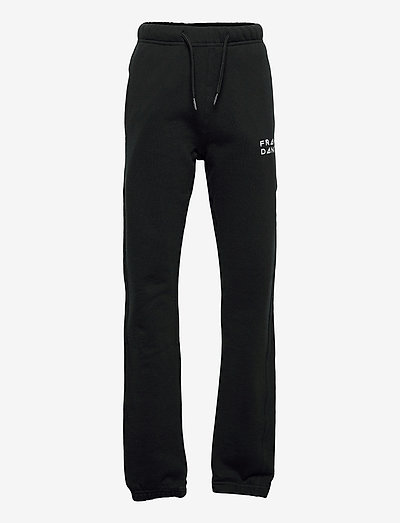 Kid's Solid Sweat Pants - spodnie dresowe - black
