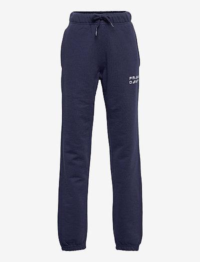 Kid's Solid Sweat Pants - spodnie dresowe - dark navy