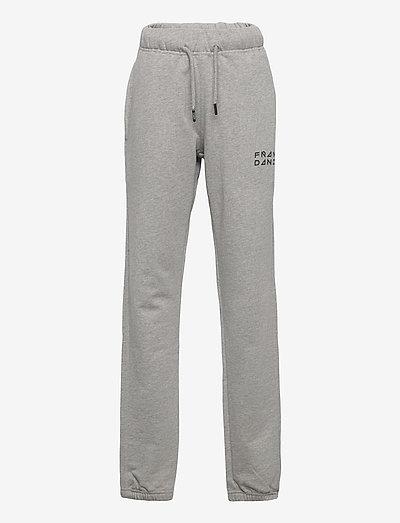 Kid's Solid Sweat Pants - spodnie dresowe - grey melange