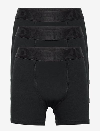 Boy's 3-pack Legend Organic Cotton Boxer - ondergoed & nachtkleding - black