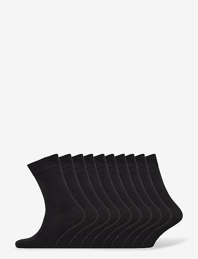 BO.10P Crew Sock - almindelige strømper - black