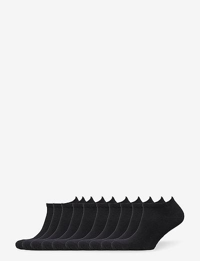 BO.10P Ankle Sock - ankelstrømper - black