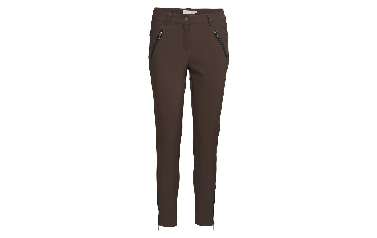Fransa Pants Elastane Black 10 90 Polyamide 1 Zio BwqHrB