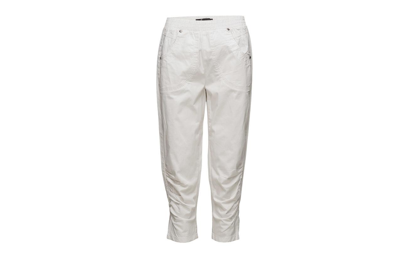 97 Coton Elastane 3 1 Pant White Fransa Timatex nXFqg0xfI
