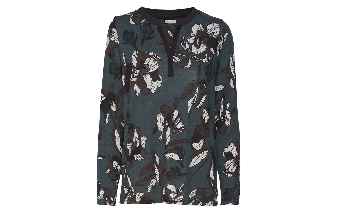 shirt Polyester Fransa Mix Orange Aura Reflower 1 5 T Elastane 95 nnqxpSO