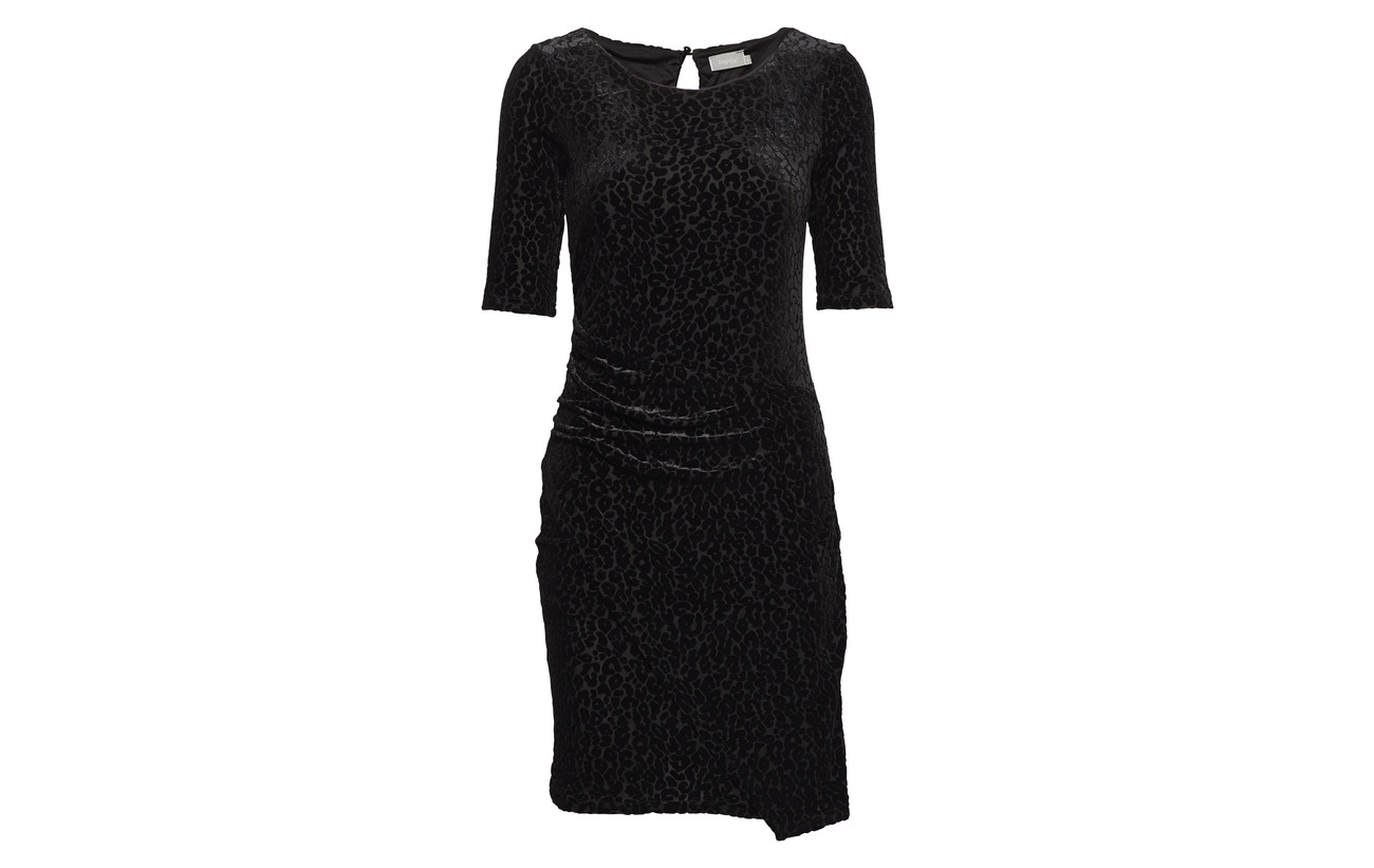 Black 11 47 Nylon Intérieure Fransa Équipement 42 Polyester Doublure Polyester Reburn Elastane 2 Dress 100 tTazT