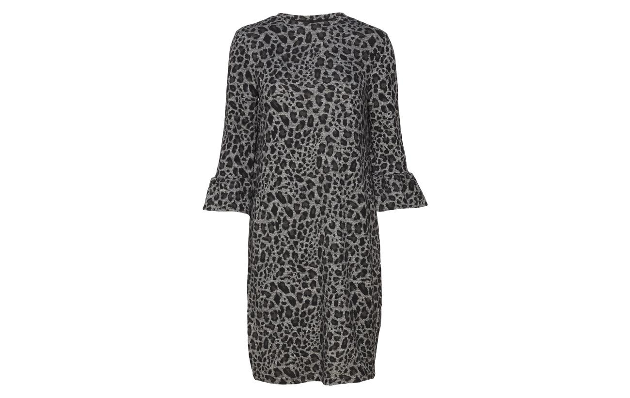 Mix Dress 2 Resoft Fransa Asphalt Elastane Polyester Melange 95 5 qAfXaxw