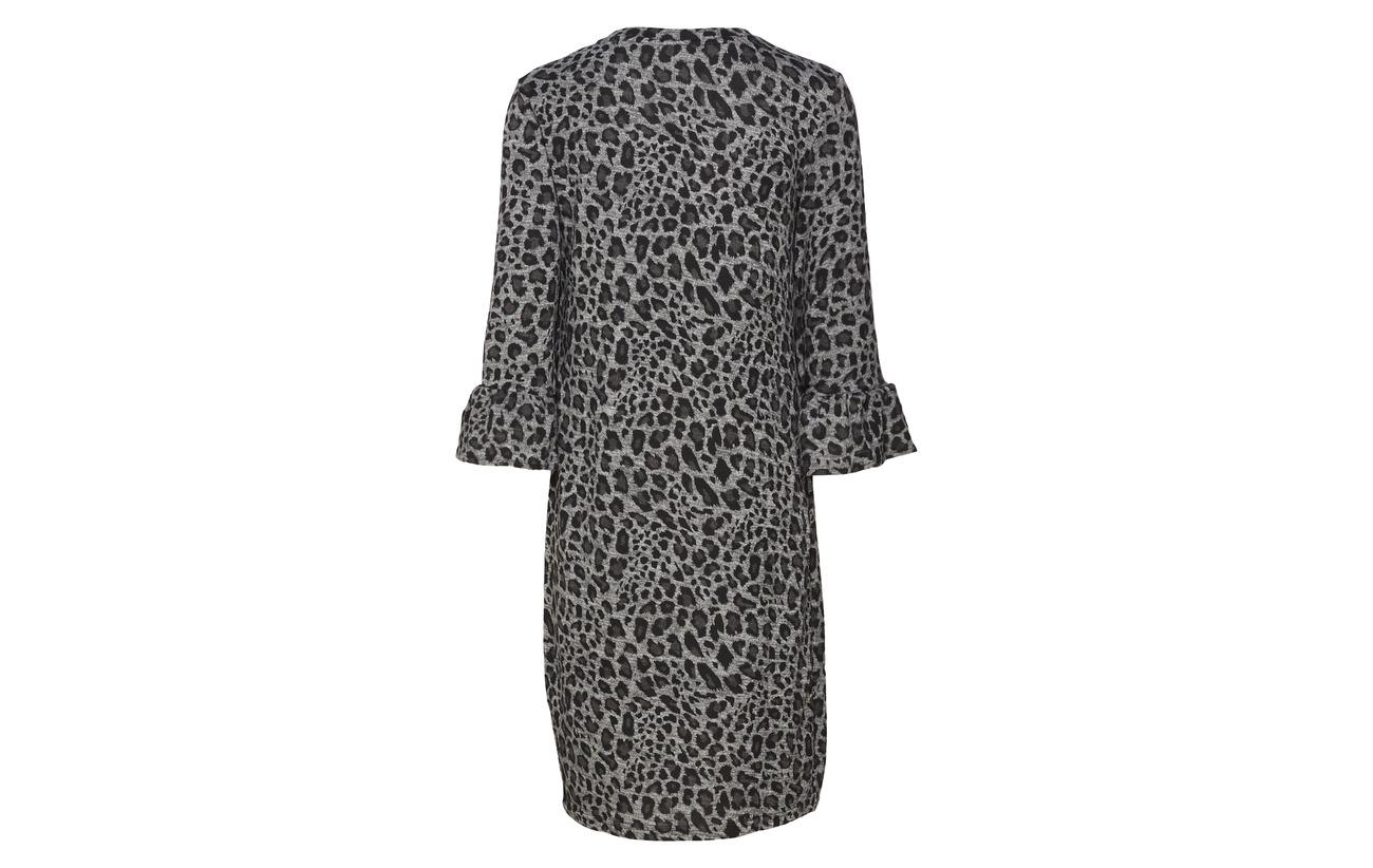 Dress Mix Fransa 5 Polyester Asphalt 95 Resoft Melange 2 Elastane Ox4Pvq4R