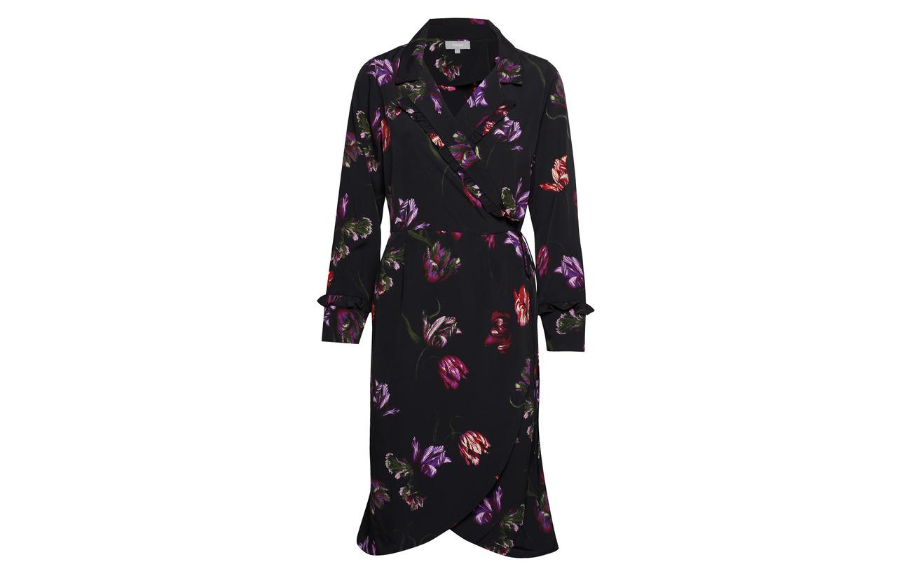 Fransa 4 Black 100 Mix Polyester Dress Asgarden rRSnqt5vwr