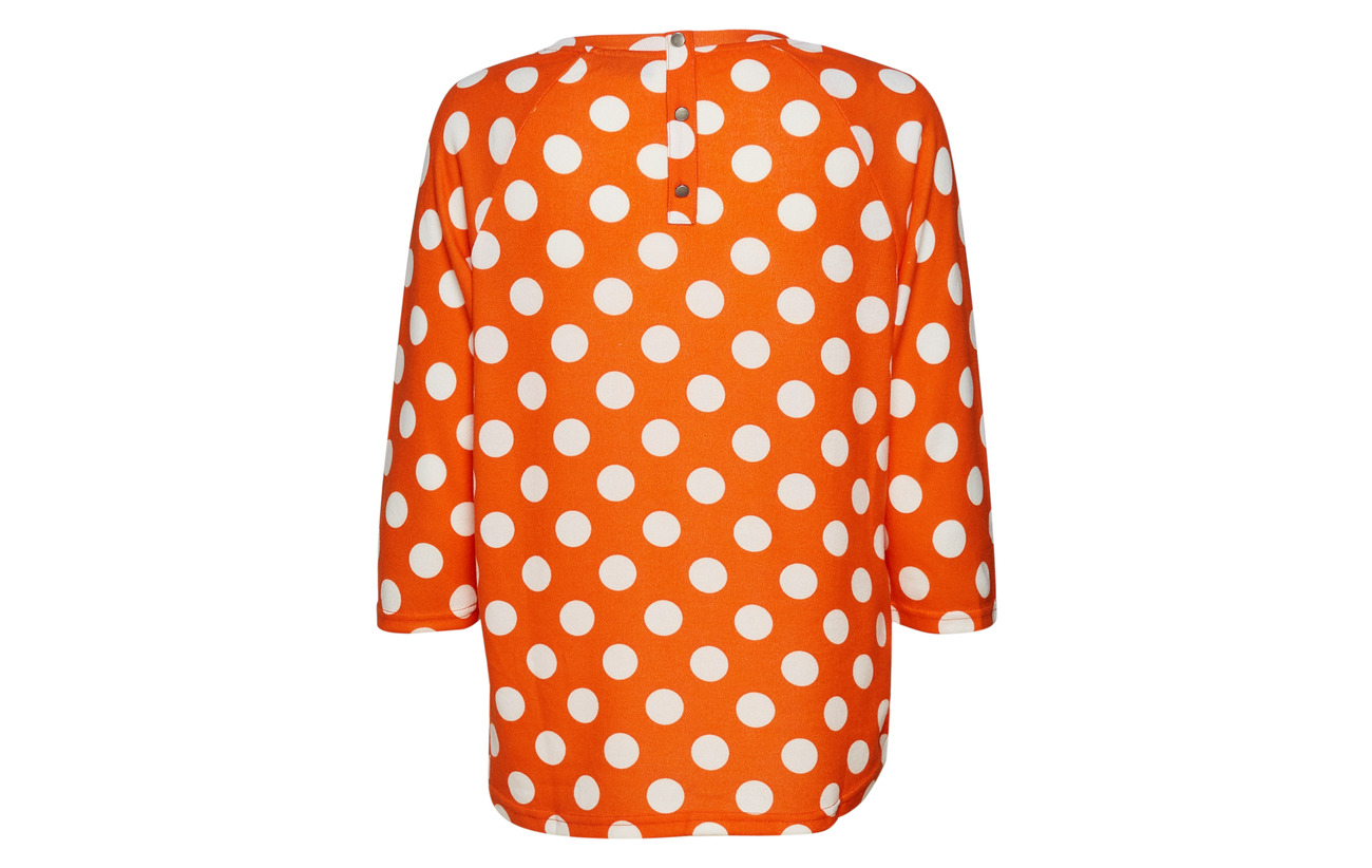Blouse Mix Polyester 5 Elastane Orange 95 1 Red Besoft Fransa EwAPq6w