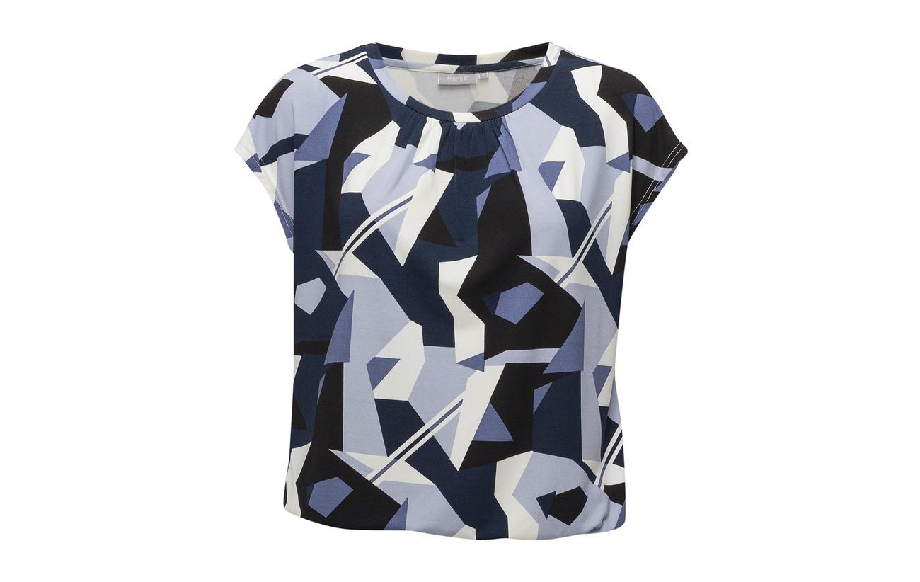 1 Blouse Elastane Polyester Iris 5 Mix Fransa 95 Fxtirosey Black S5xpSHq6
