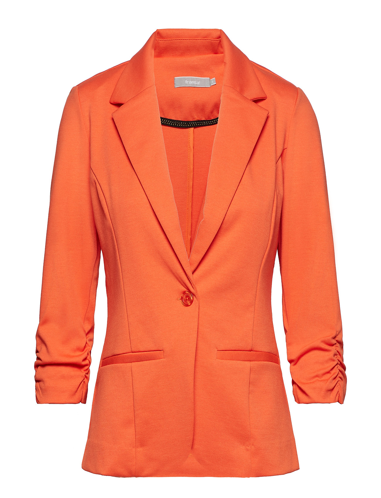 6c14a656 RED ORANGE Fransa Zablazer 1 Blazer blazere for dame - Pashion.dk
