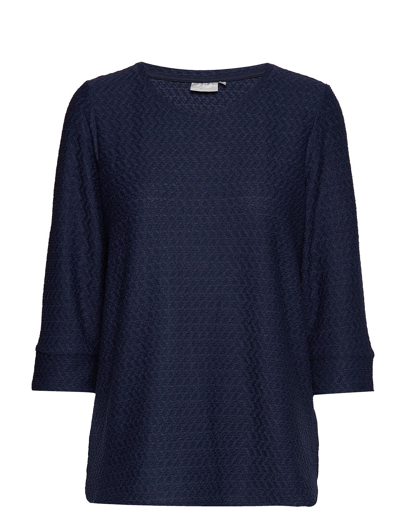 Frcijacq 1 T Shirt Bluse Langærmet Blå FRANSA