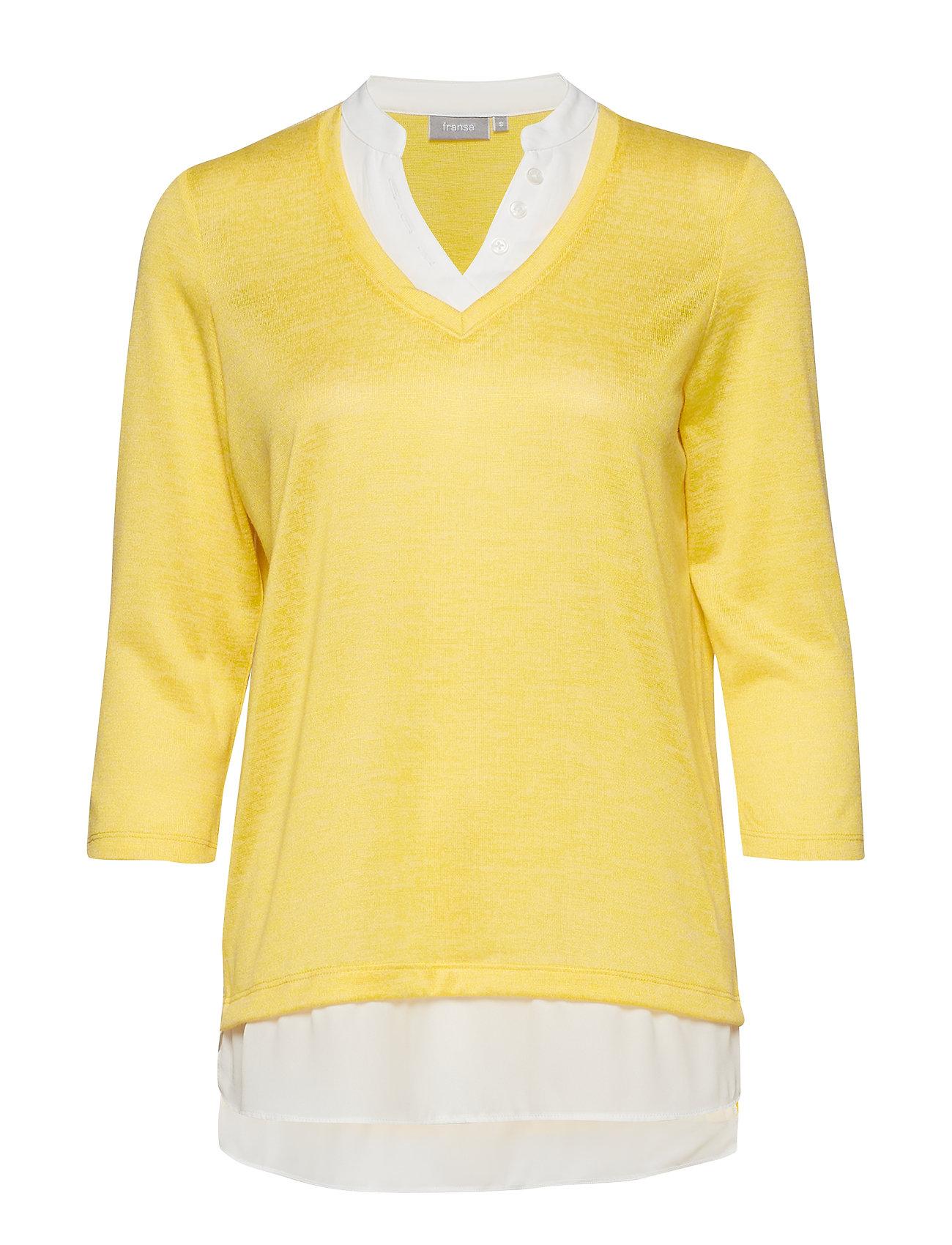 8c3b1f1c Frcipirexa 1 T-shirt (Lemon Zest Melange) (120 kr) - Fransa ...