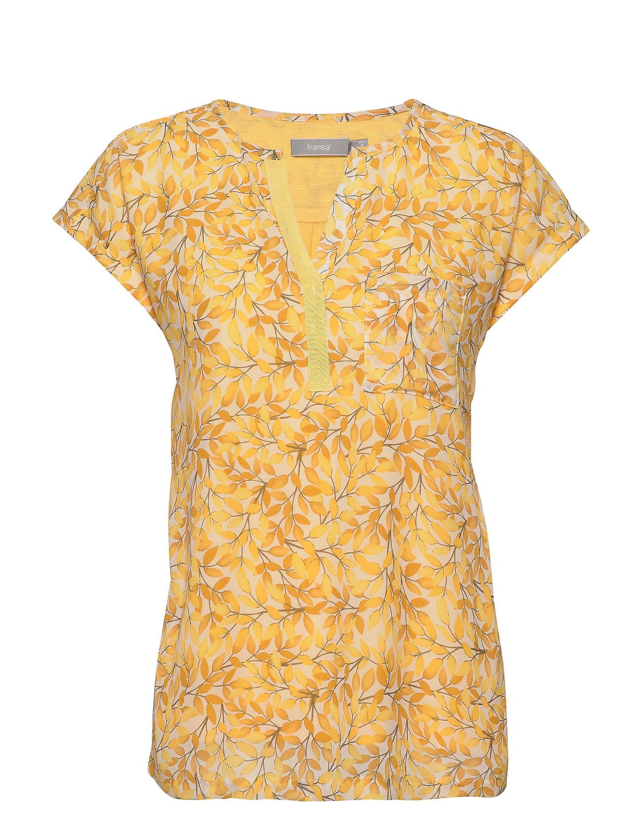Image of Zawov 8 Top Blouses Short-sleeved Gul Fransa (3411924523)