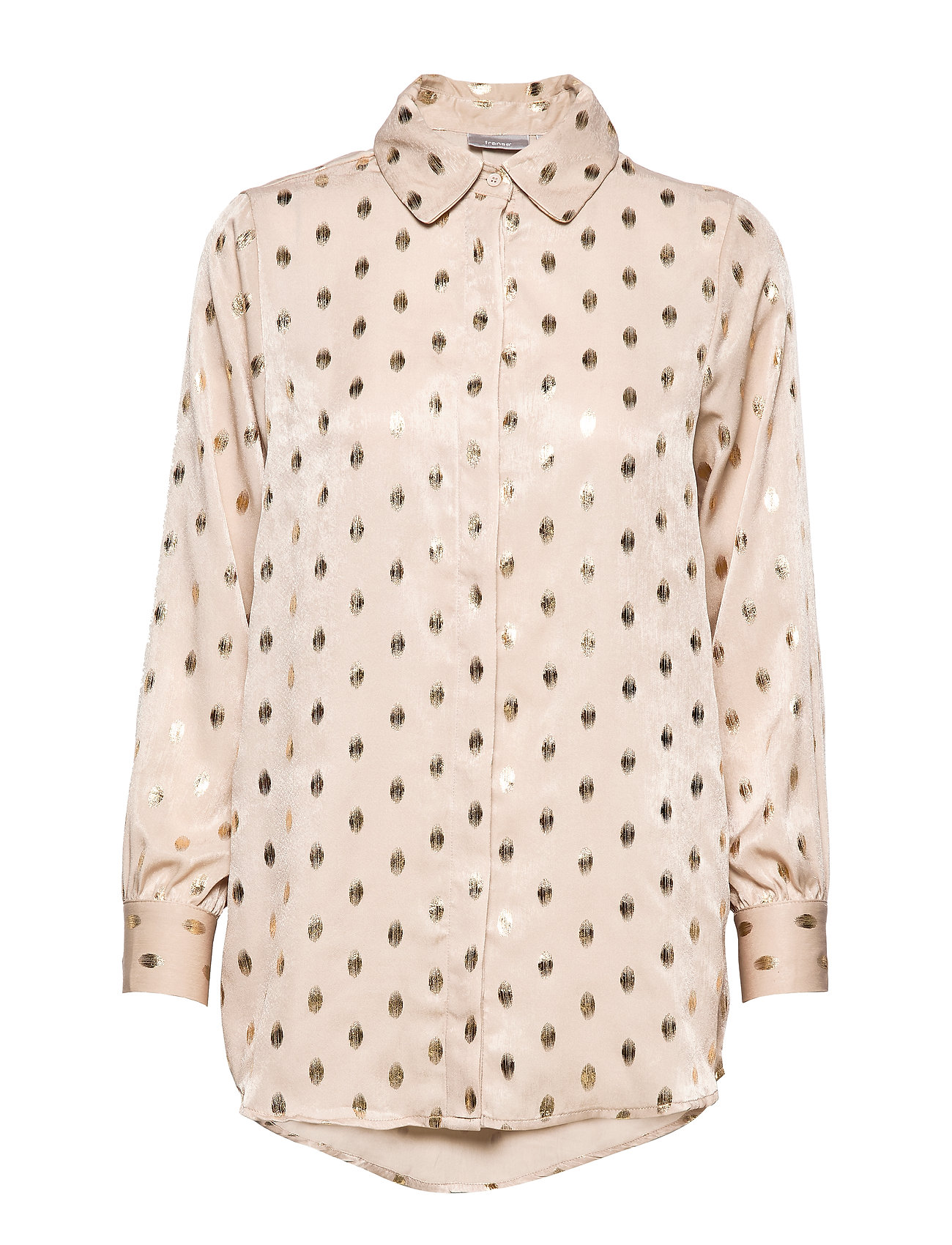 Fransa FRGAFOIL 1 Shirt - FROSTED ALMOND MIX