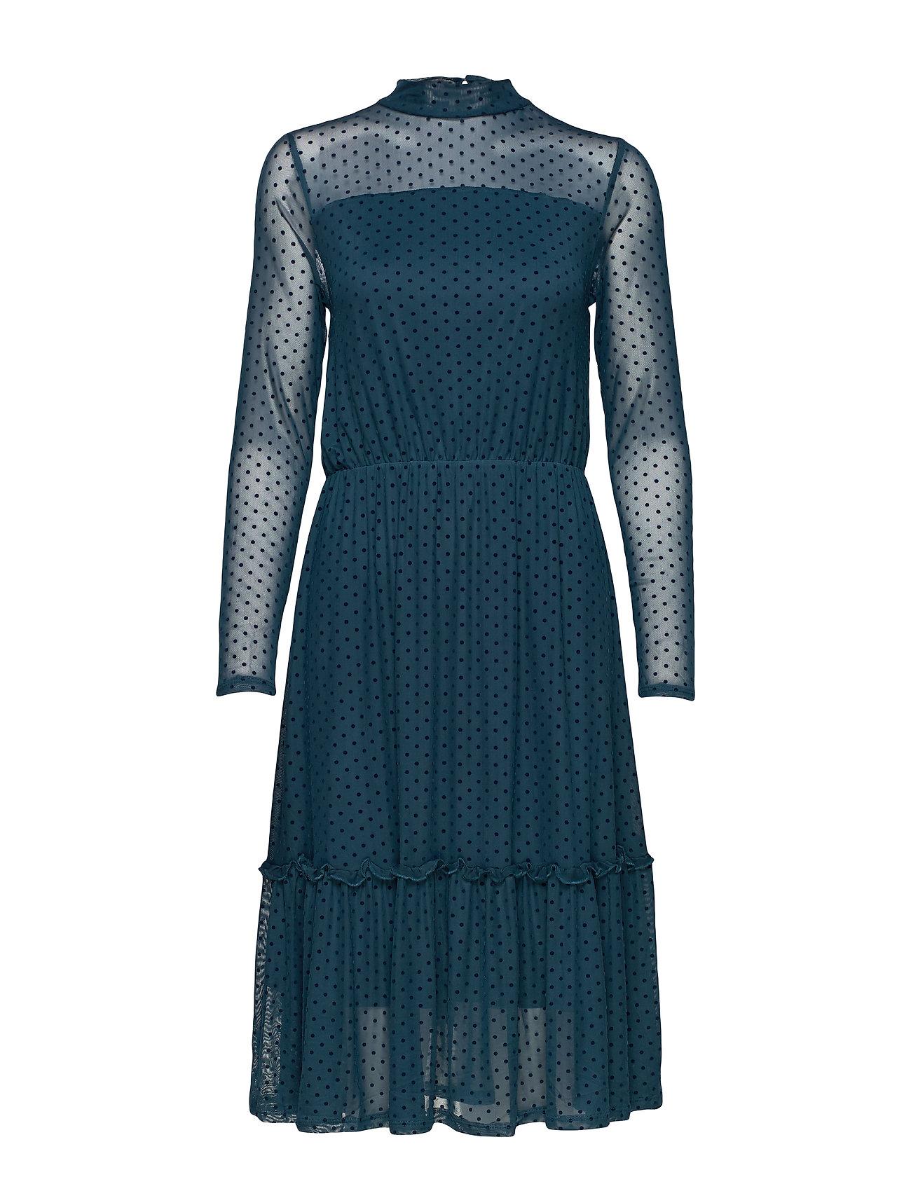Fransa FRGIMESH 2 Dress - REFLECTING POND MIX