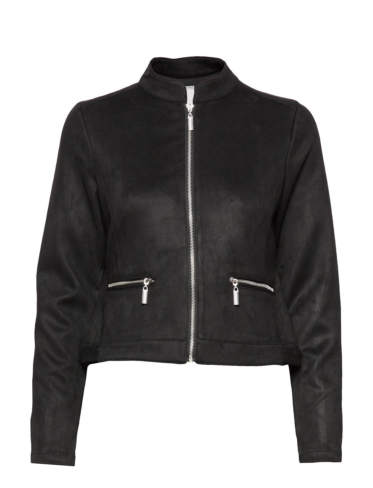 Fransa FRGISUEDE 1 Jacket - BLACK