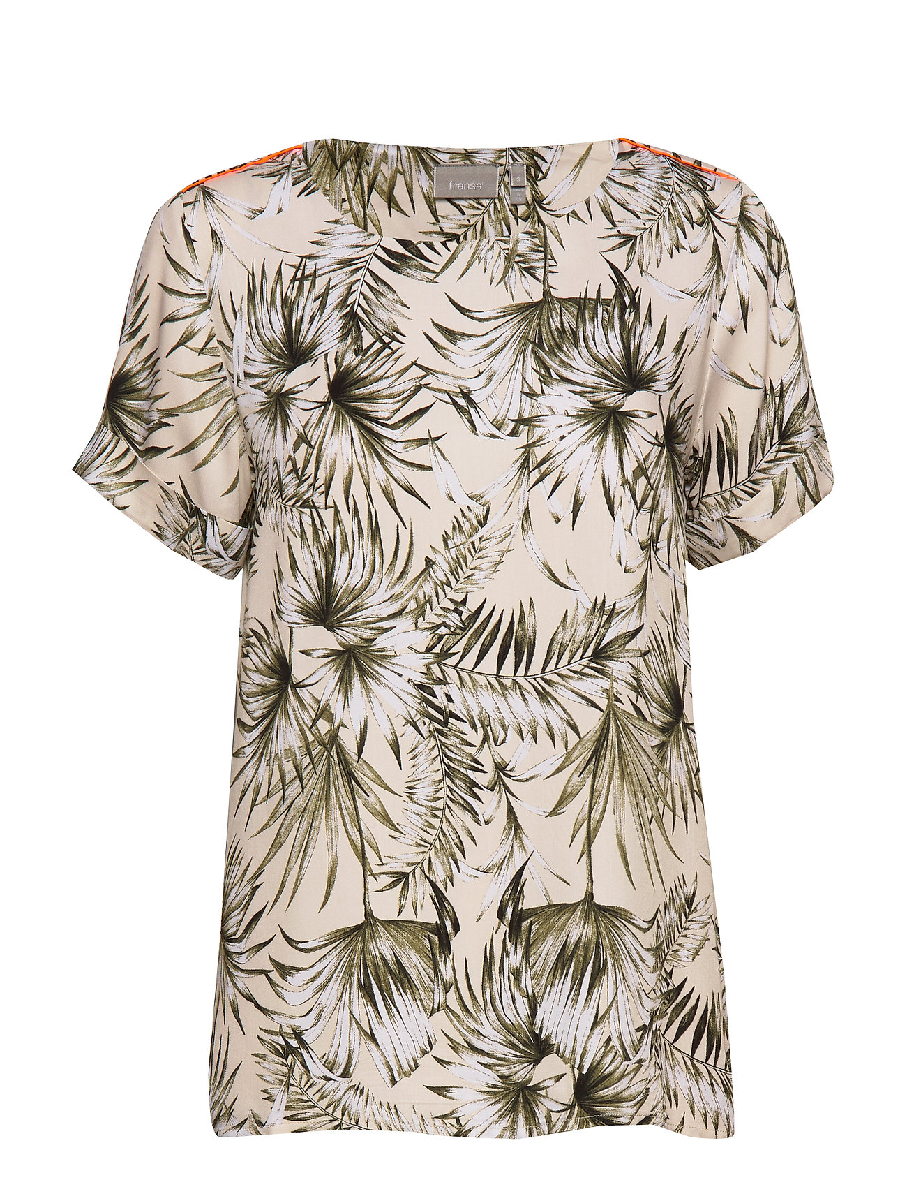Fransa FRIPALM 2 Blouse - HEDGE MIX