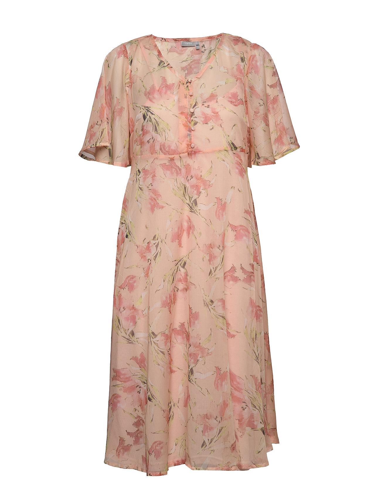 Fransa FRIPCHIFLOW 1 Dress - ENGLISH ROSE MIX