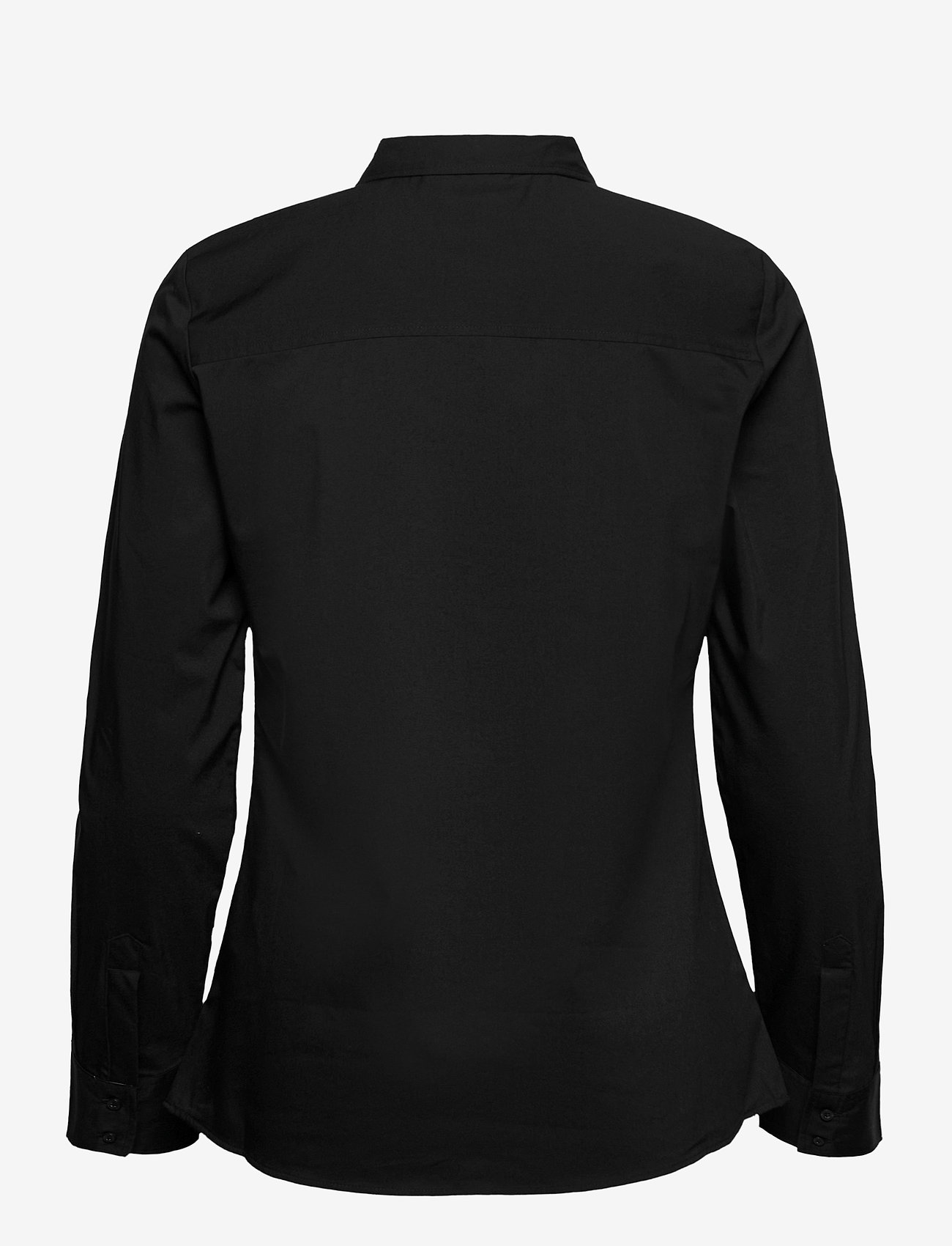 Fransa - Zashirt 1 Shirt - pitkähihaiset paidat - black - 1