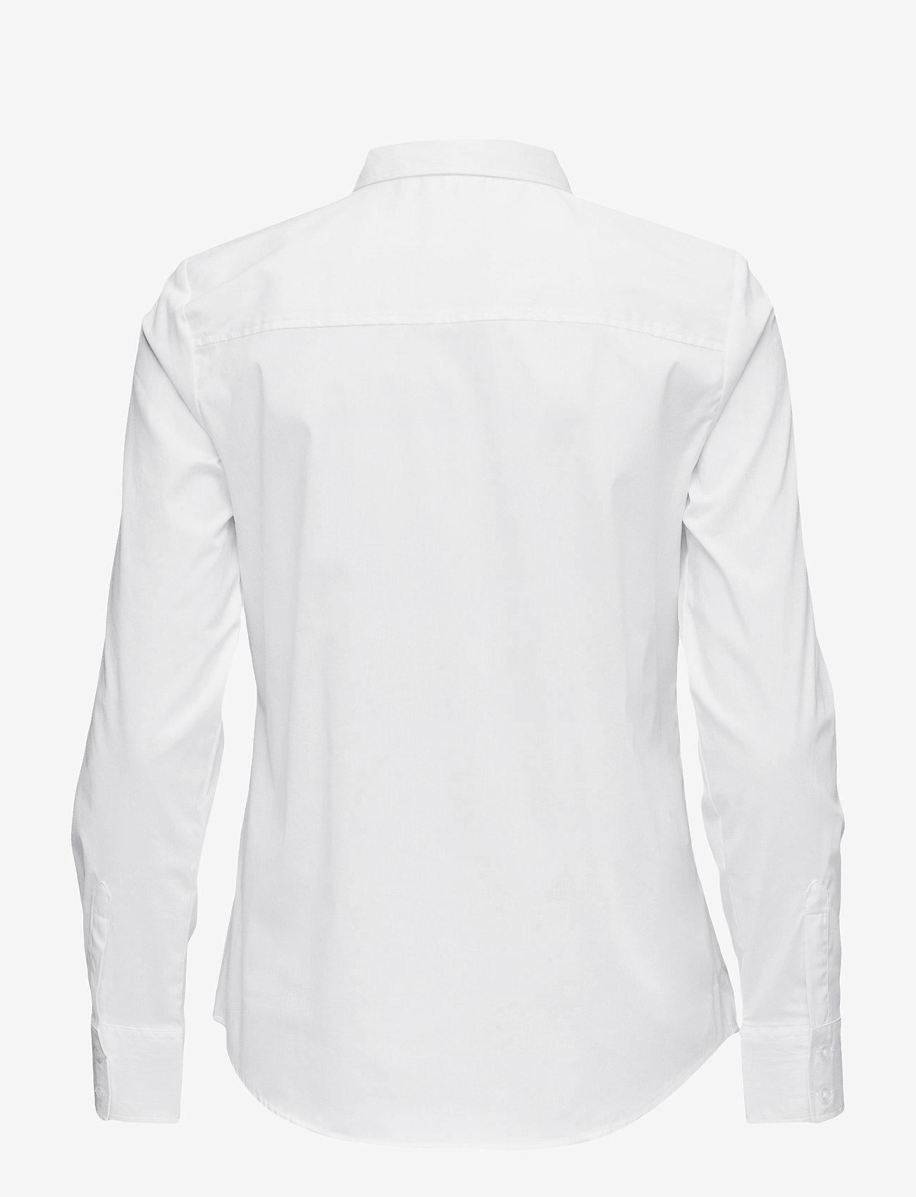 Fransa - Zashirt 1 Shirt - pitkähihaiset paidat - white - 1