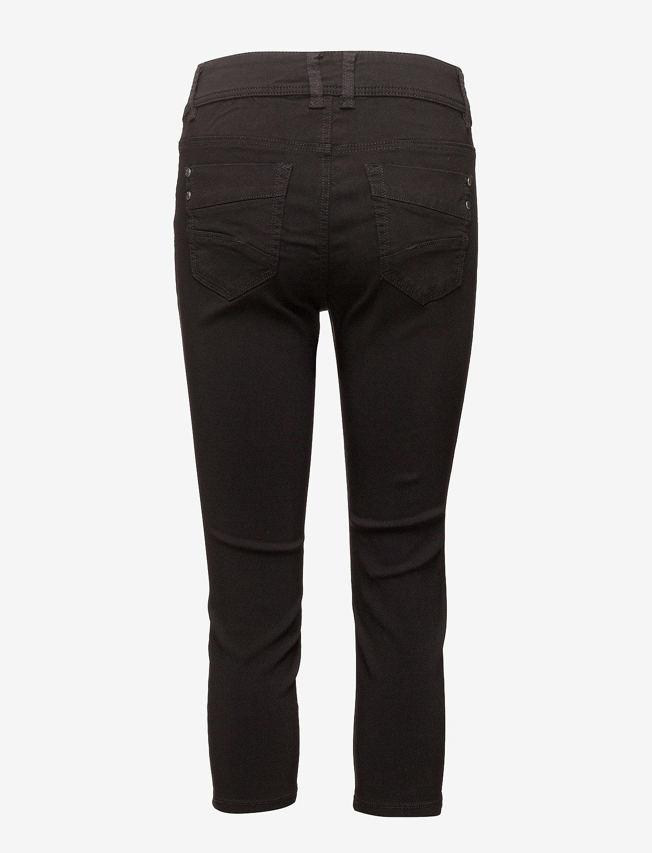 Fransa - Zalin 10 Capri Pants - capribroek - black - 1