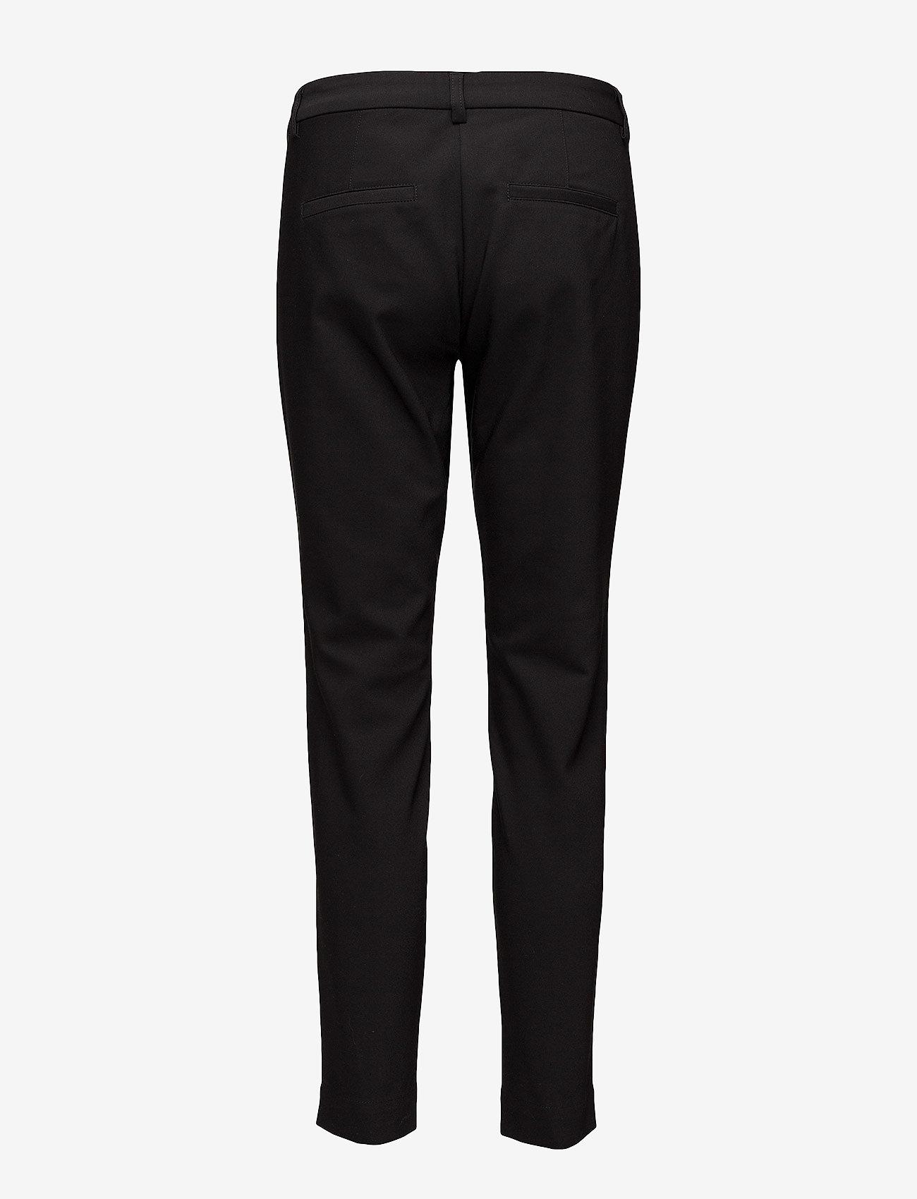 Fransa - Zapant 1 Pants - broeken med straight ben - black - 1