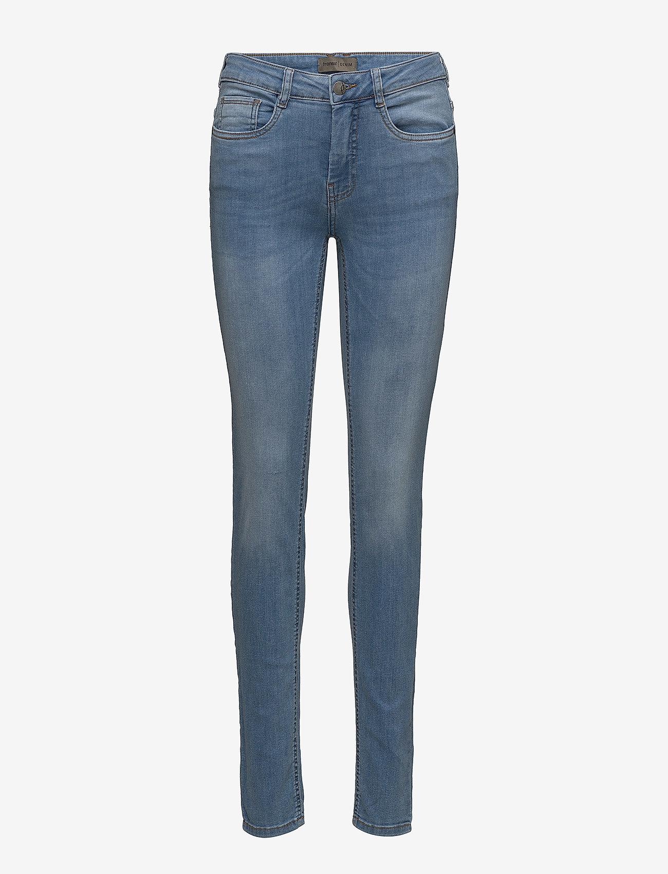 Fransa - Zoza 1 Jeans - skinny jeans - cool blue denim - 0