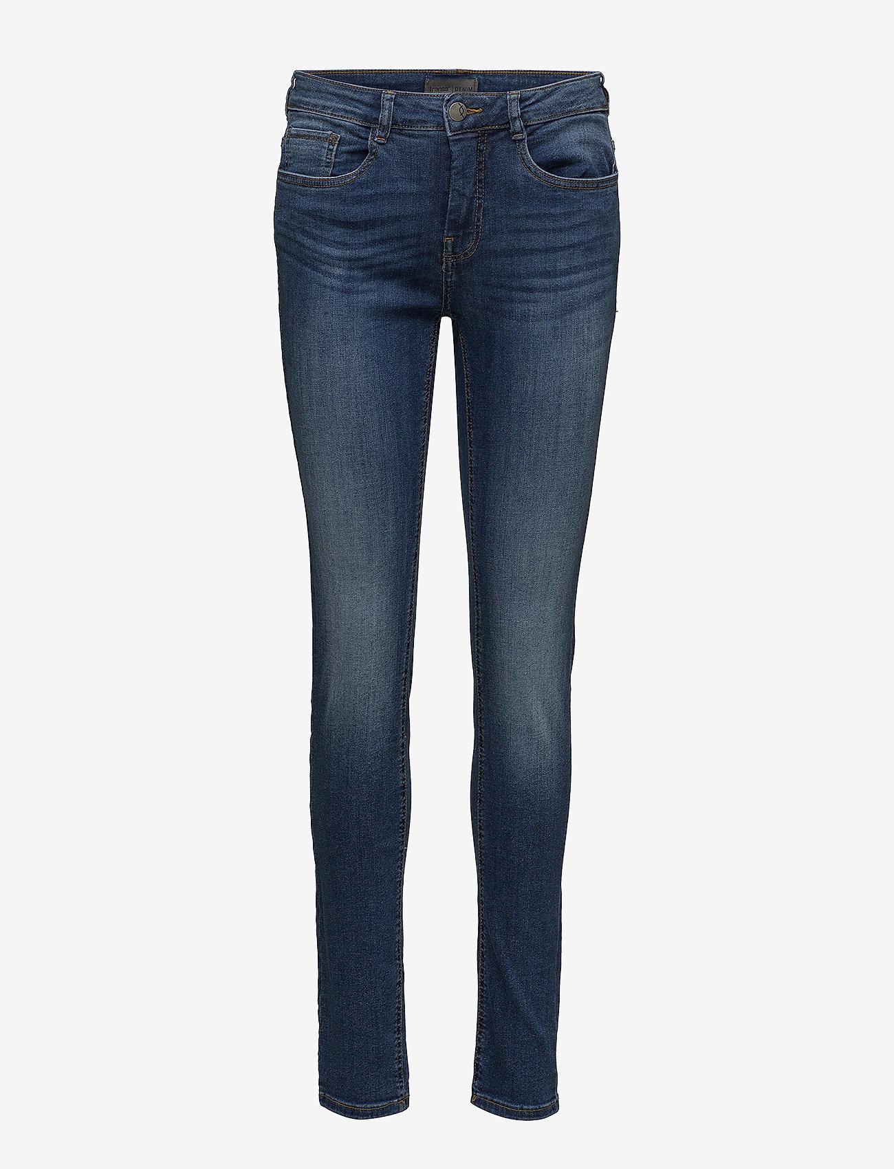 Fransa - Zoza 1 Jeans - skinny jeans - metro blue denim - 0