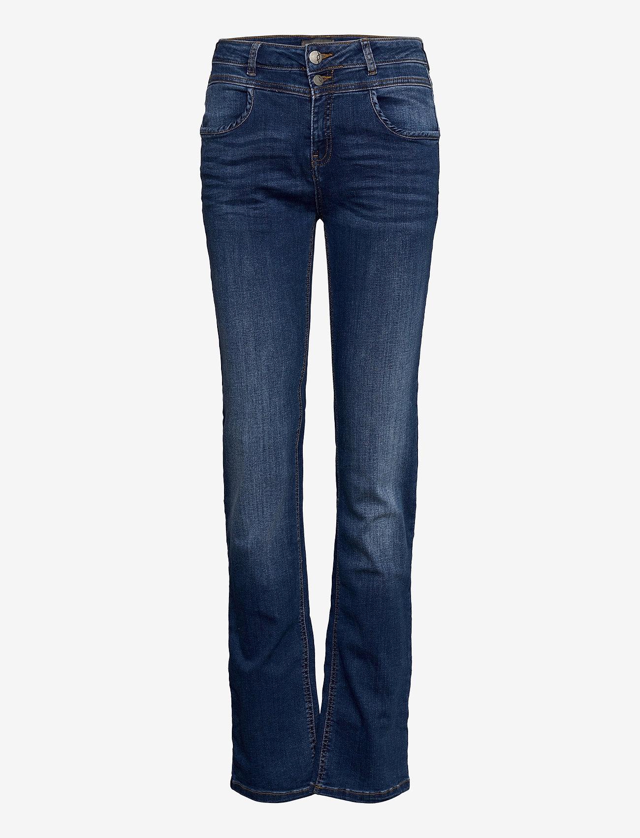 Fransa - Zomal 2 Jeans - straight jeans - metro blue denim - 0