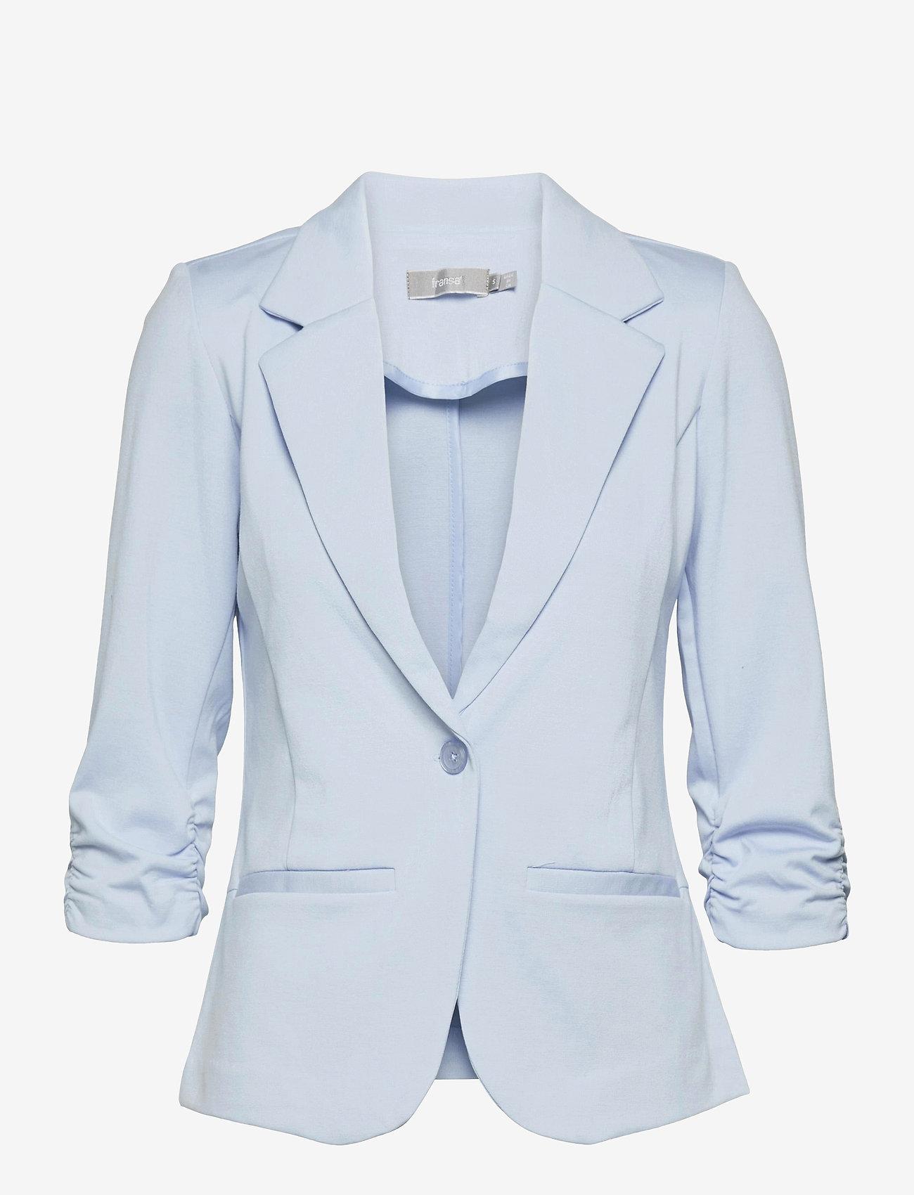 Fransa - Zablazer 1 Blazer - casual blazers - cashmere blue - 0