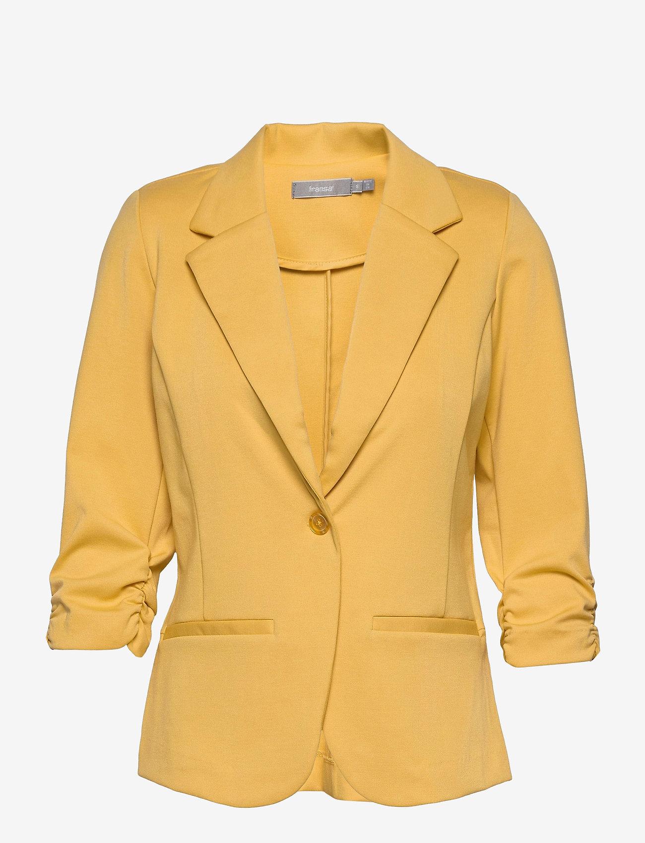 Fransa - Zablazer 1 Blazer - casual blazers - ochre - 0