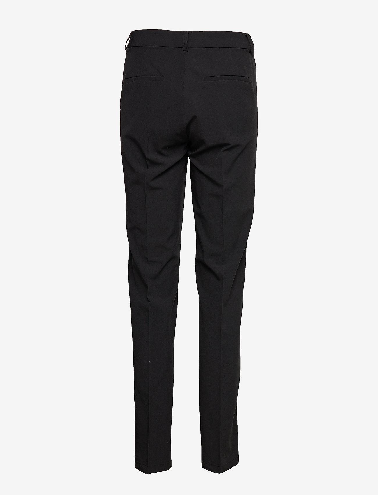 Fransa - Zano 2 Pants - bukser med lige ben - black - 1