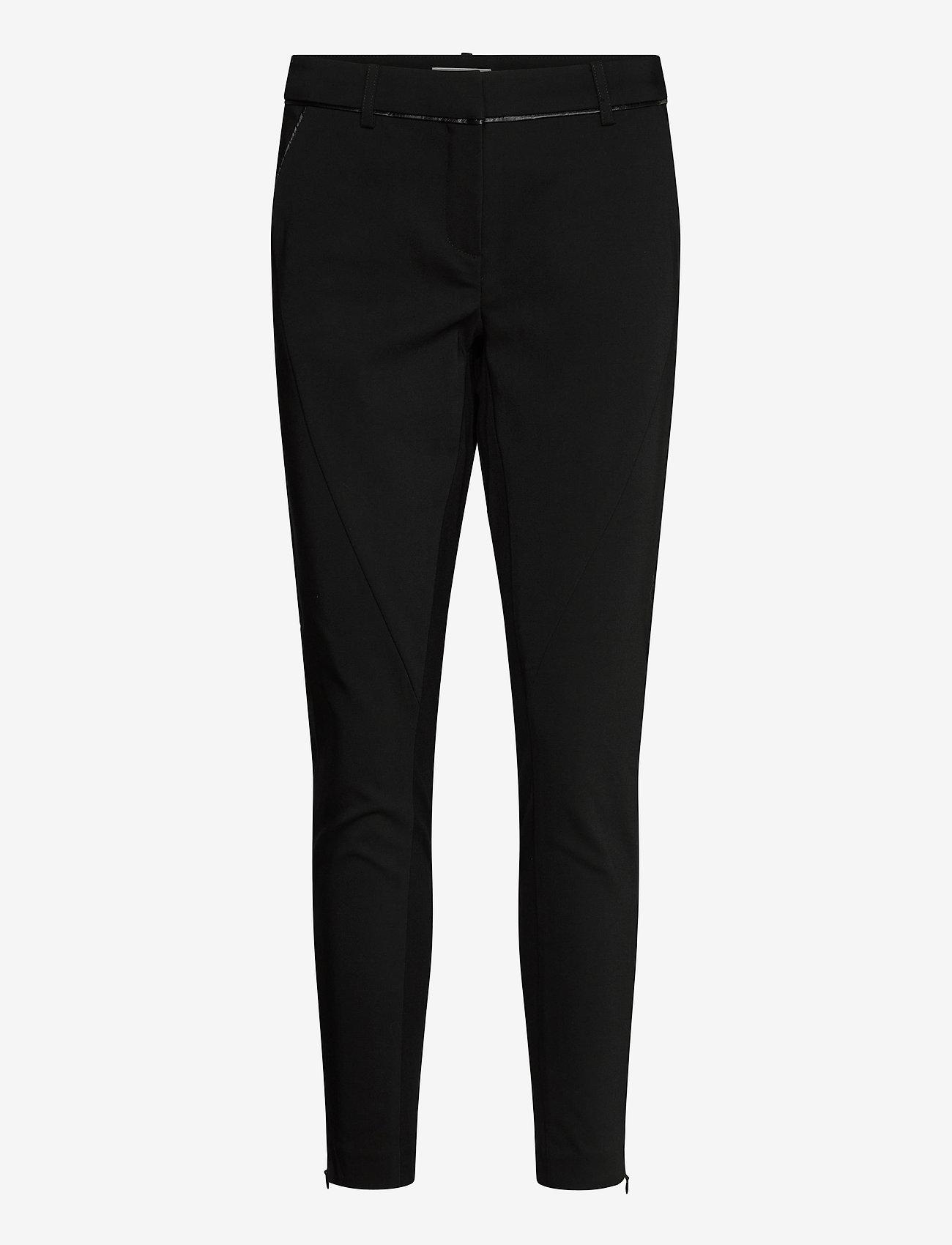 Fransa - Zacity 1 Pants - slim fit bukser - black - 0