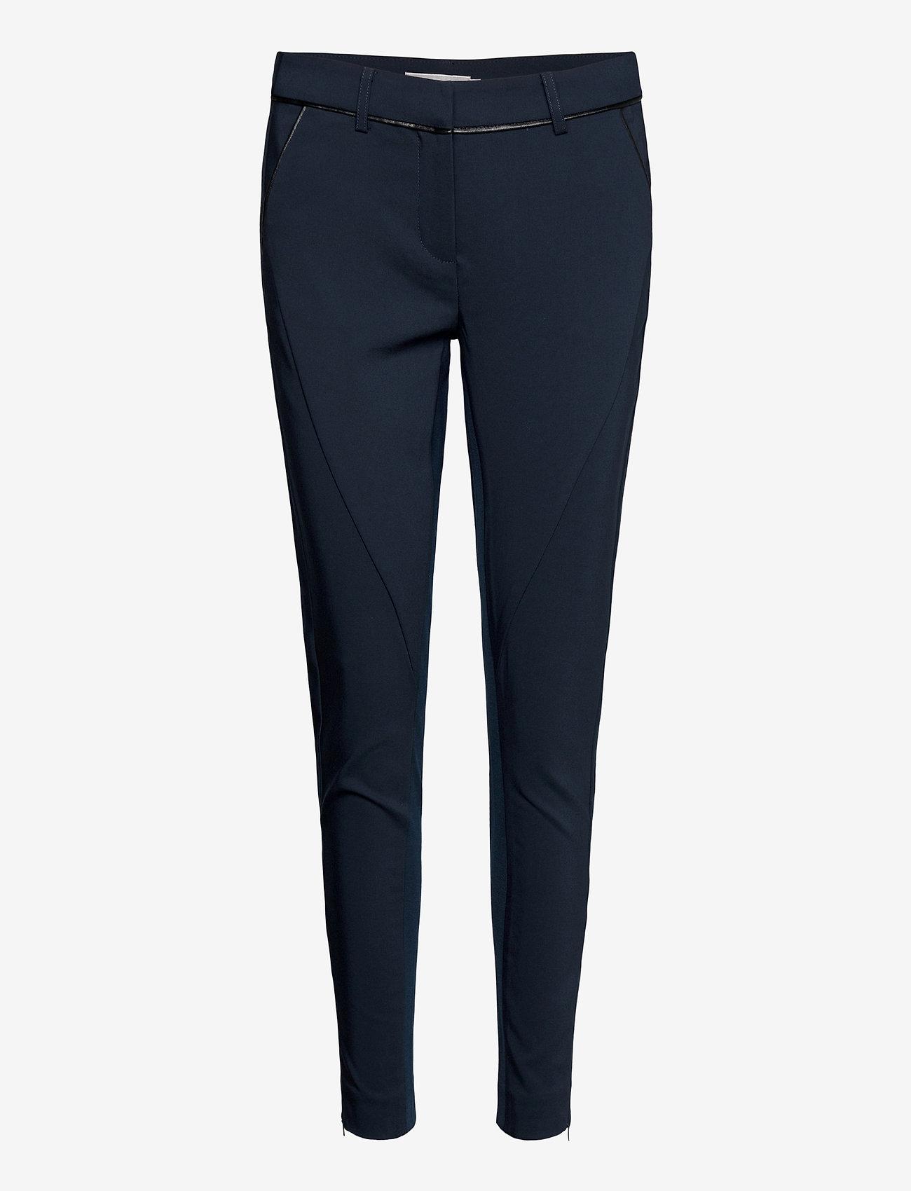 Fransa - Zacity 1 Pants - slim fit bukser - dark peacoat - 0