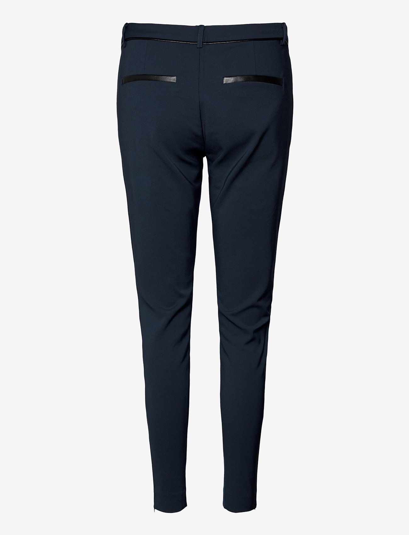 Fransa - Zacity 1 Pants - slim fit bukser - dark peacoat - 1
