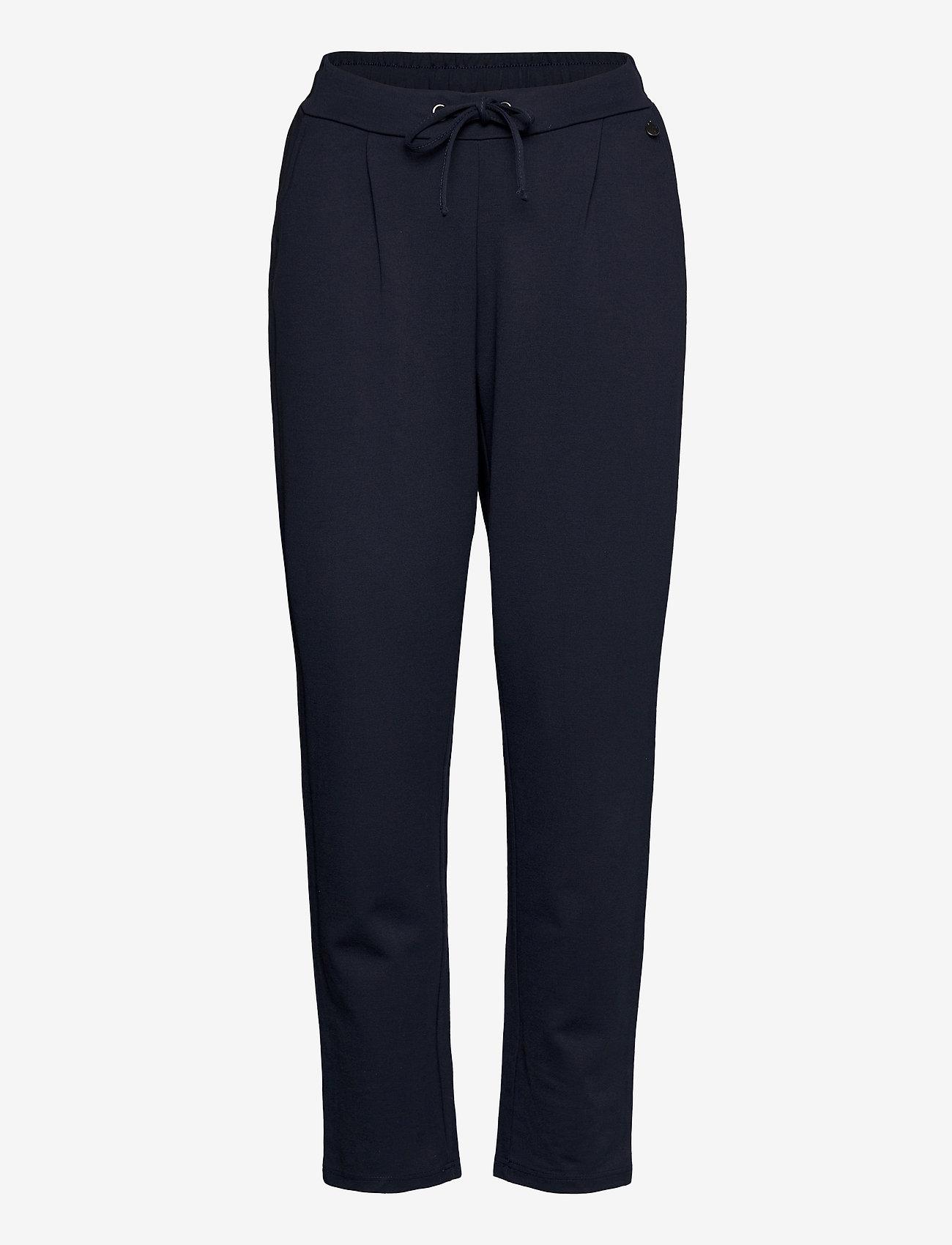 Fransa - FRZASTRETCH 1 Pants - casual broeken - dark peacoat - 0