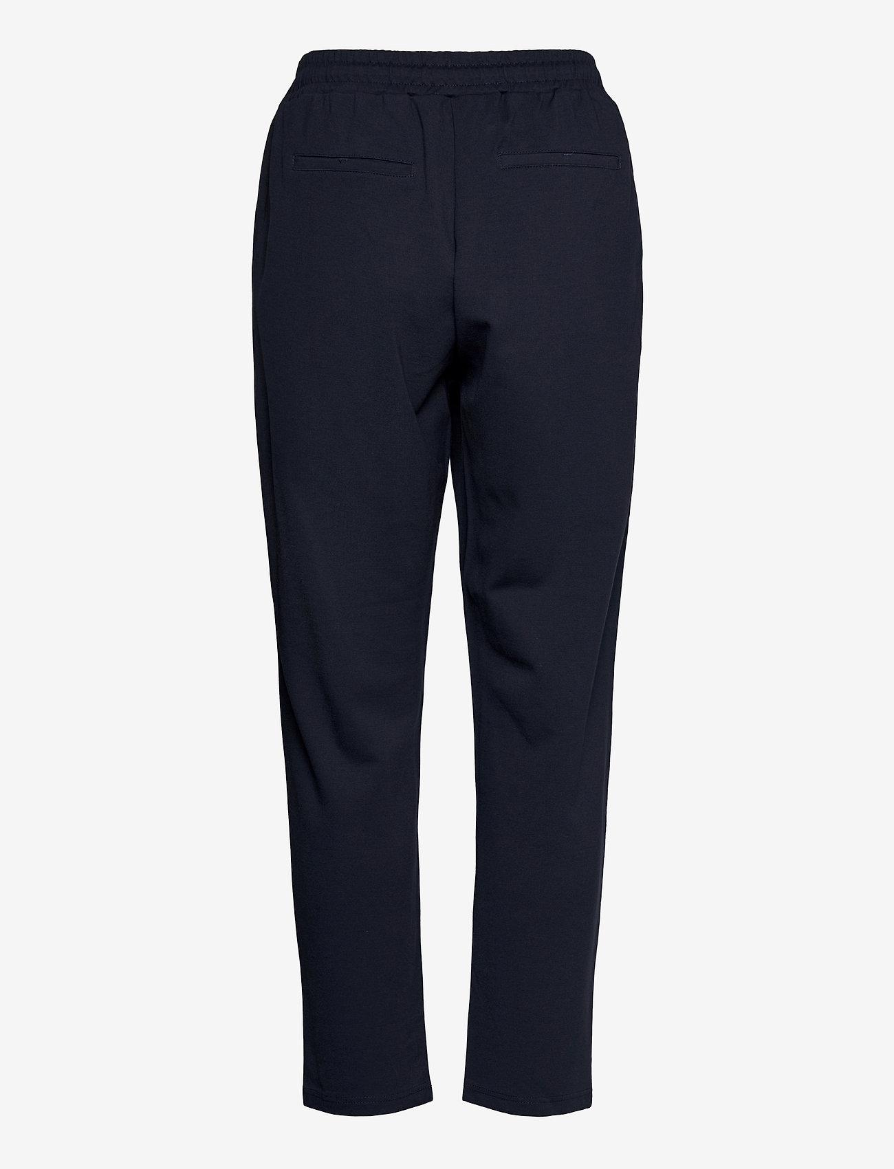 Fransa - FRZASTRETCH 1 Pants - casual broeken - dark peacoat - 1