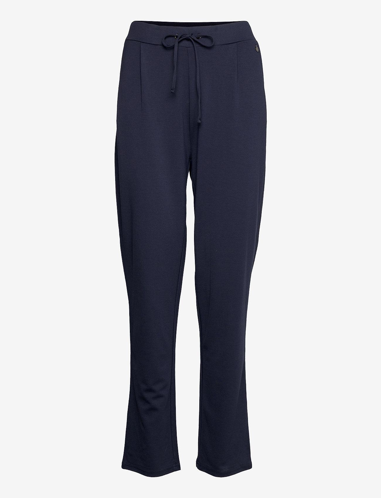 Fransa - FRZASTRETCH 1 Pants - casual broeken - navy blazer - 0
