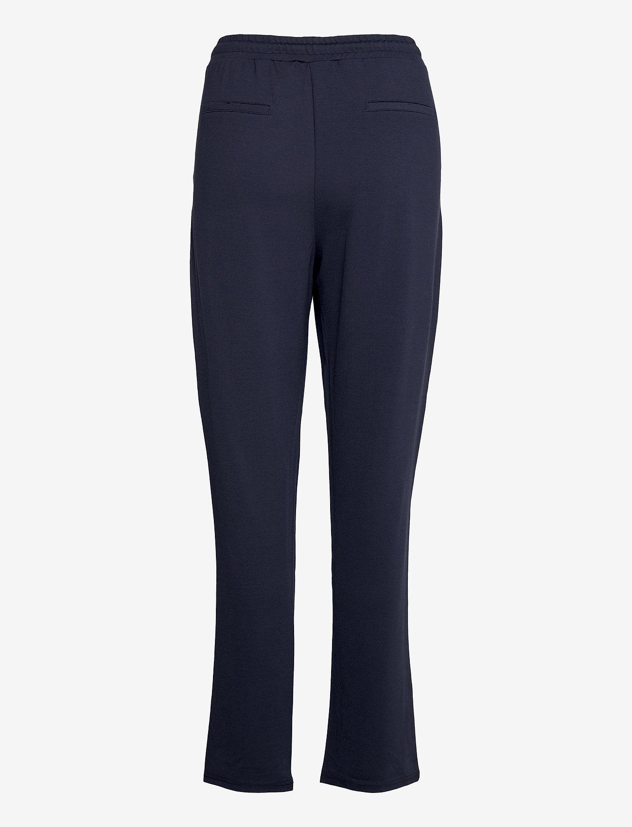 Fransa - FRZASTRETCH 1 Pants - casual broeken - navy blazer - 1