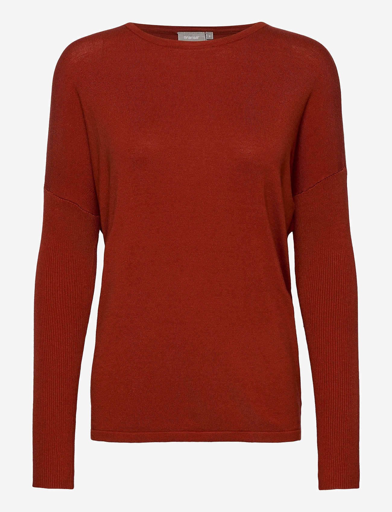 Fransa - ZUVIC 175 Pullover - jumpers - barn red - 0
