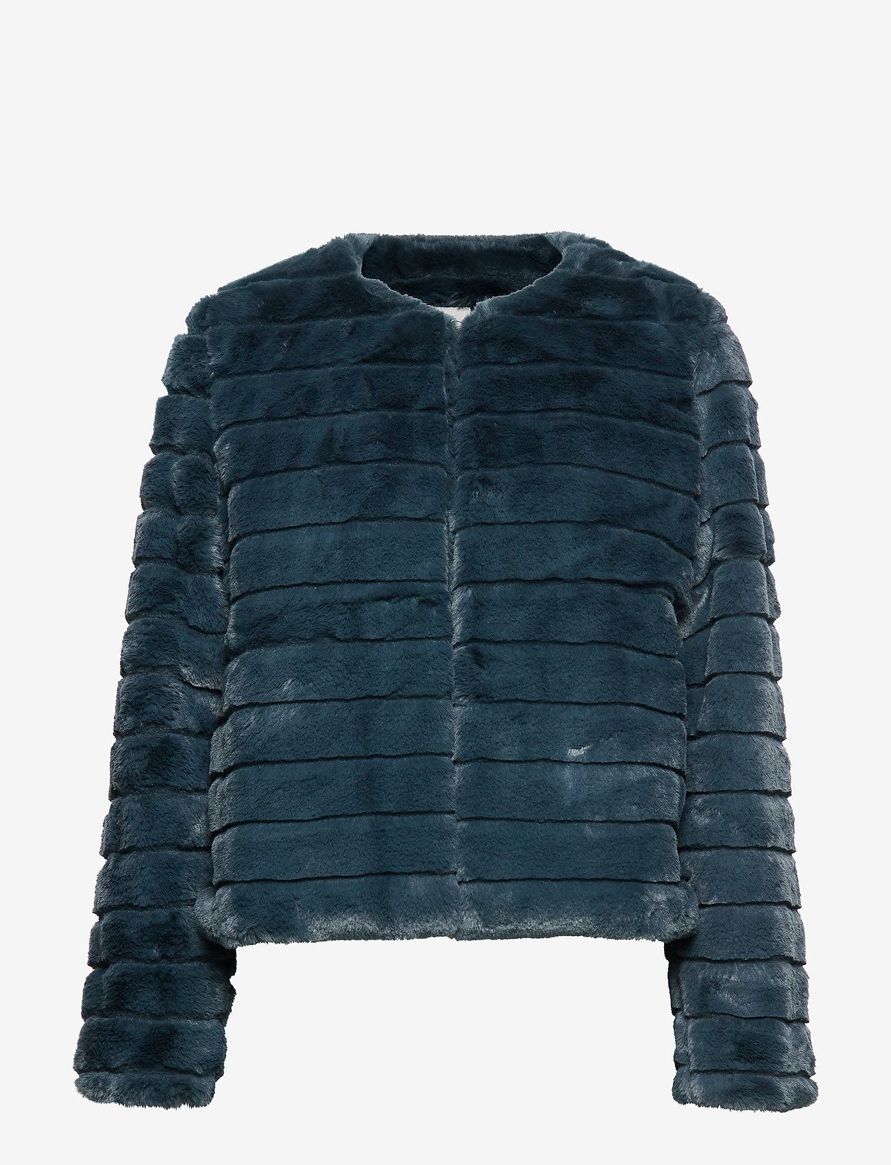 Fransa - FRGAFUR 1 Jacket - fake fur - reflecting pond - 0