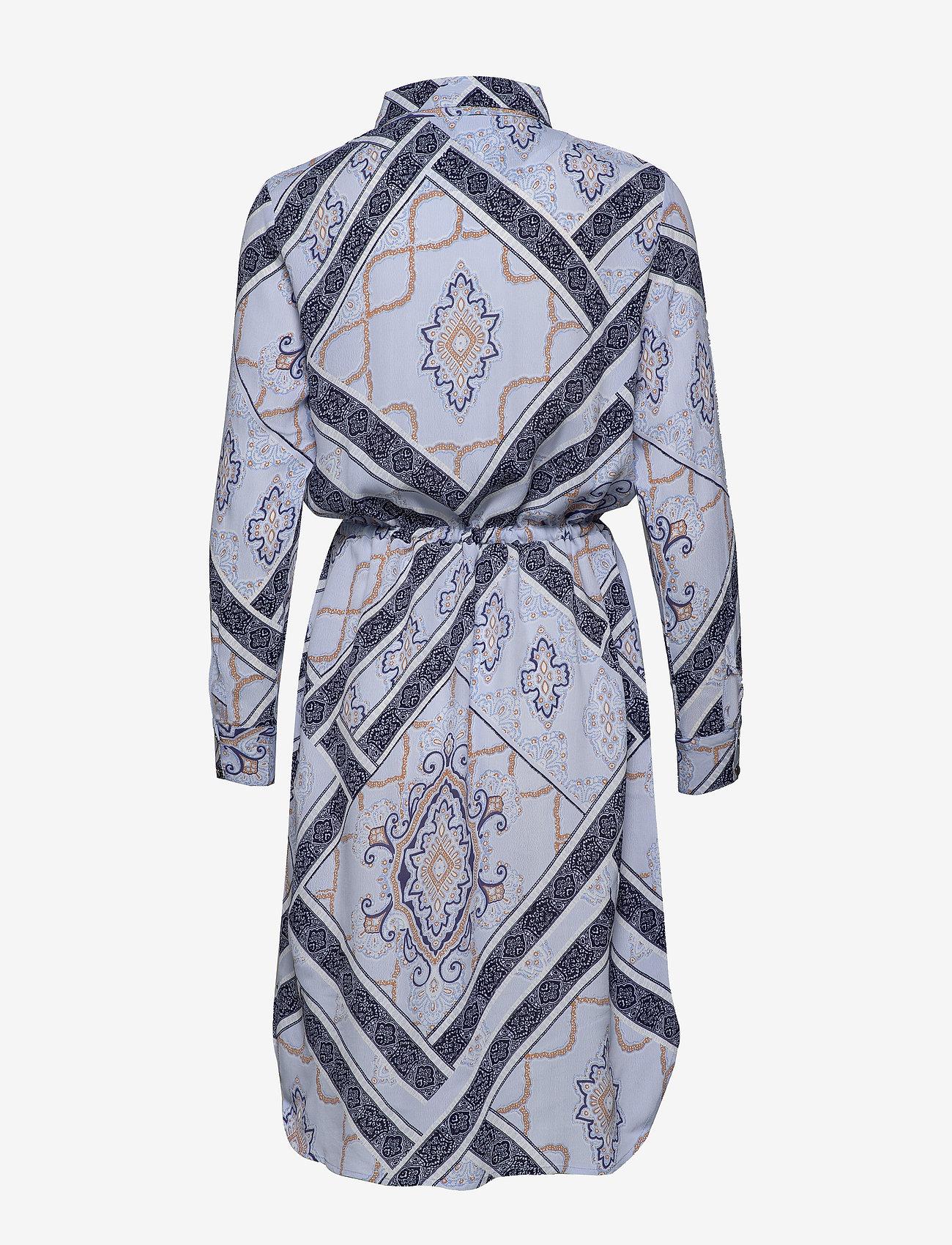 Fransa Frhascarf 1 Dress - Klänningar Brunnera Blue Mix