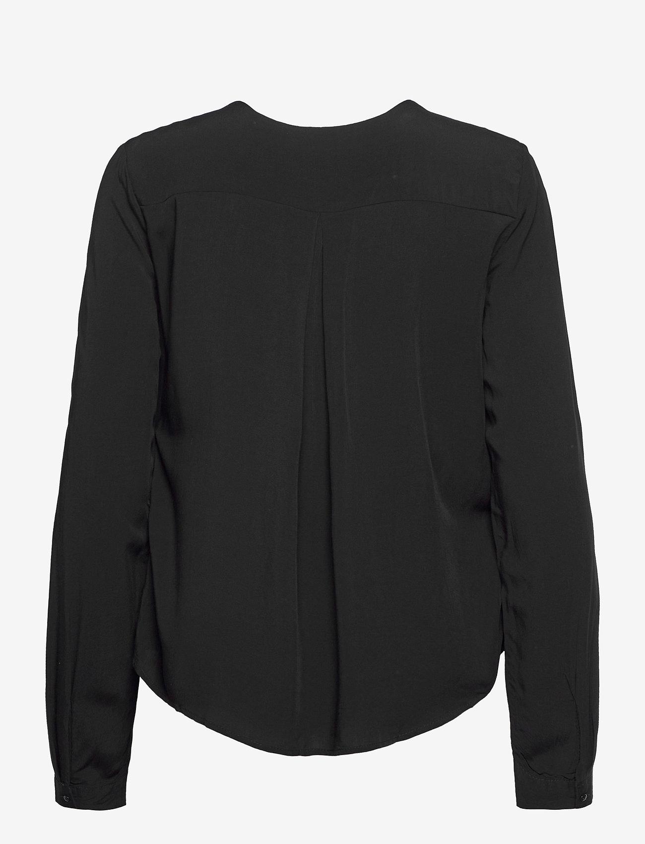 Fransa - FRHAZAVISK 1 Shirt - blouses met lange mouwen - (noos) black - 1