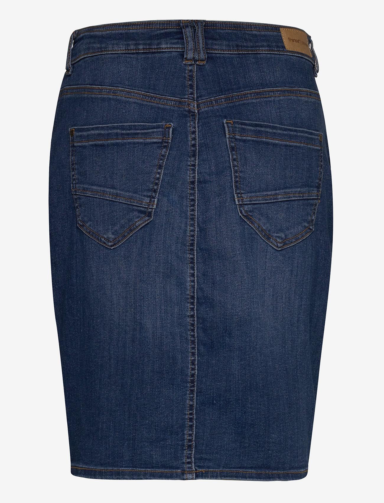 Fransa FRJOZOZA 1 Skirt - Spódnice METRO BLUE DENIM - Kobiety Odzież.