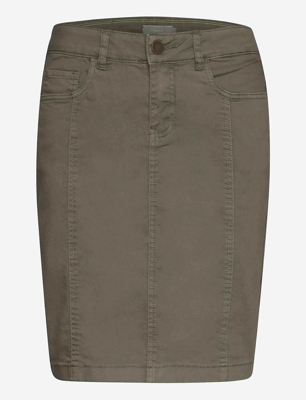 Fransa - FRJOTWILL 3 Skirt - short skirts - hedge - 0