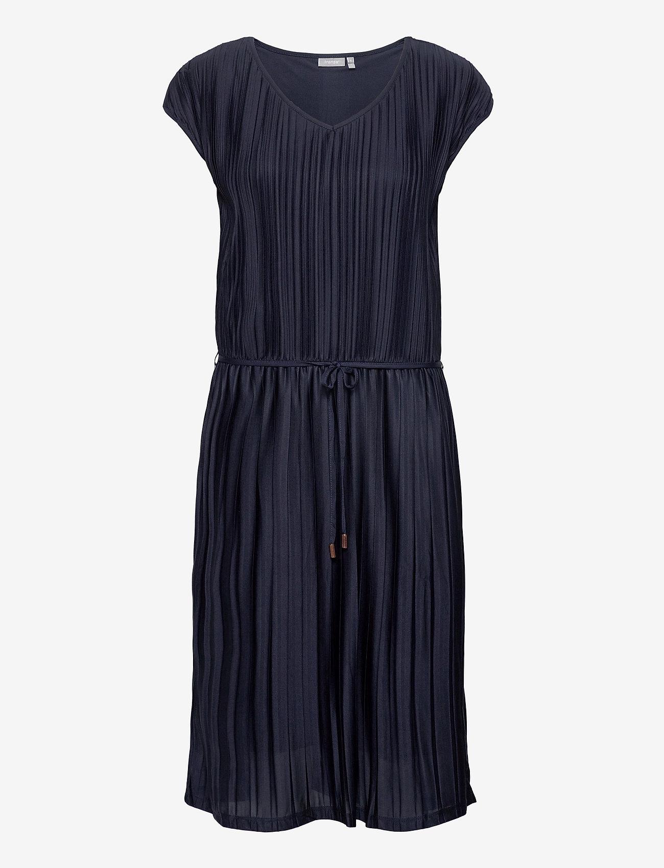 Fransa - FRJEPLISSE 1 Dress - midi jurken - navy blazer - 0