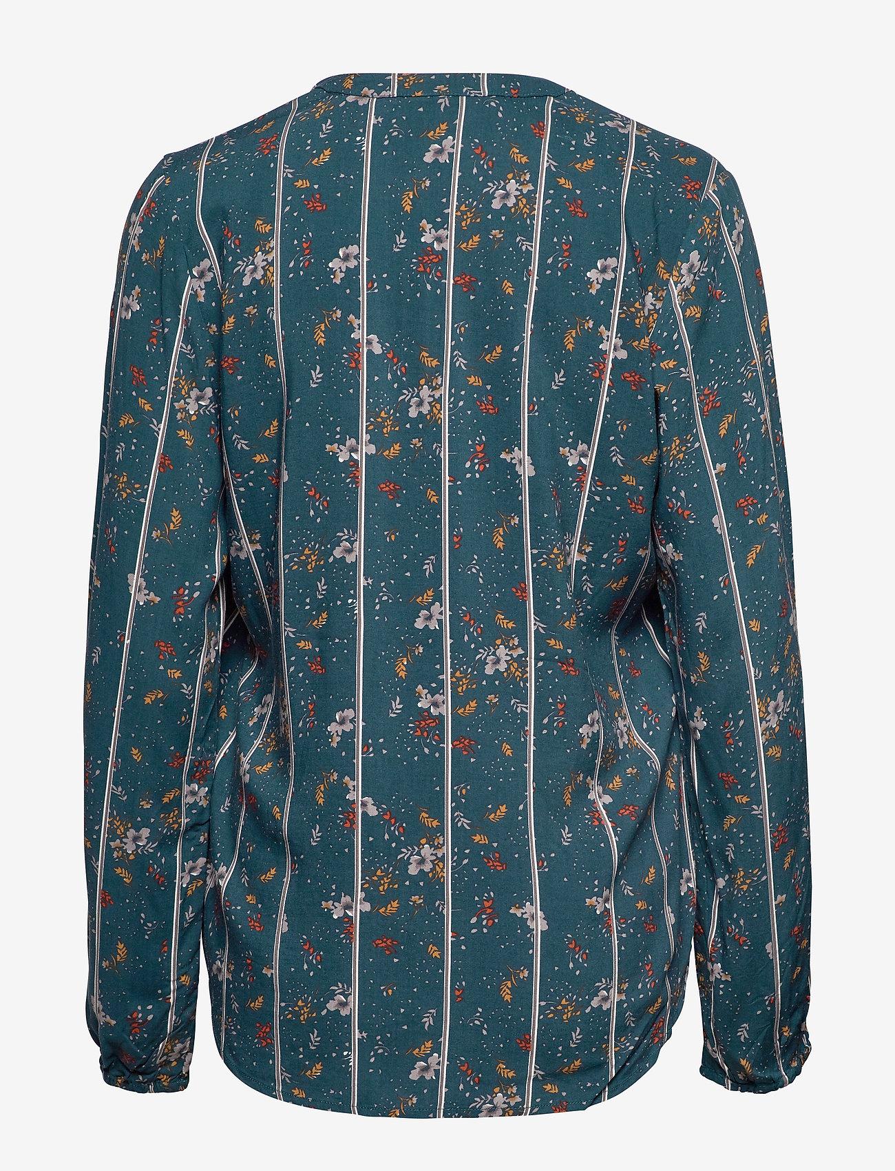 Fransa FXTIJOR 4 Blouse - Bluzki & Koszule REFLECTING POND MIX - Kobiety Odzież.